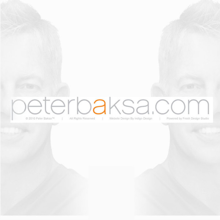 Peter Baksa Web Design
